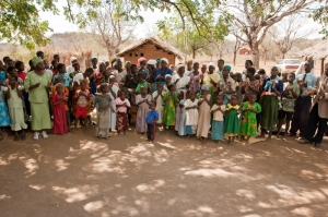 The congregation at Kholosi