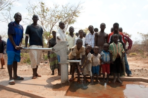 Borehole at Miracle Church site