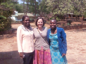 Kara with Conference Communicators, Chinayi and Priscilla
